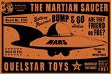 Quelstar Mars Saucer