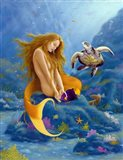 Mermaid and Turtle 2