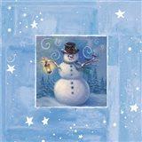 Ice Box Snowman