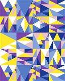 Geometrics Blue