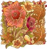 Fall Flowers I