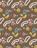Hawaiian Brown Pattern