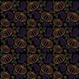 Paisley Pumpkin Pattern