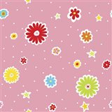 Summer Flowers and Stars II