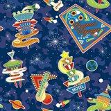 Cosmic Voyage Pattern