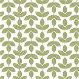 Allover Leaf Pattern Green