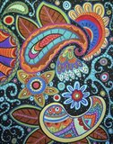 Abstract Paisley