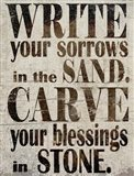 Sorrows in Sand