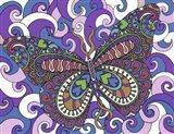 Bashful Garden Butterfly Soaring High