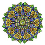 Colorful Calming Mandala