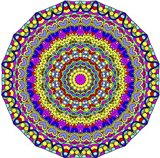 Hearts Mandala Glowing