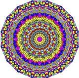 Hearts Mandala Glowing