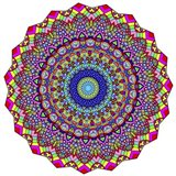 Kisses Mandala in Red