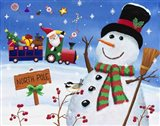 Noth Pole Snowman