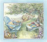 Hammock Under The Apple Tree