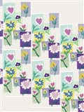 Hearts and Flowers Collage