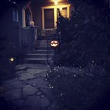 Halloween Entryway