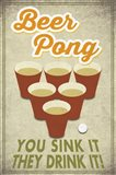 Beer Pong Sink It