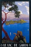 Le Lac De Garda Lake Scene