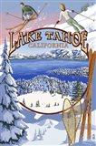 Lake Tahoe Skiiers Ad