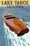 Lake Tahoe California Boat