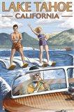 Lake Tahoe California Water Ski