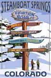 Steamboat Springs Colorado Signs
