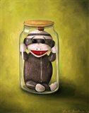 Preserving Childhood Baby Sock Monkey