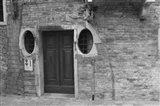 Venice Doorway B&W