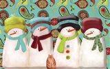 Paisley Snowmen
