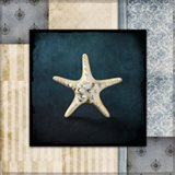 Blue Sea Bumpy Star