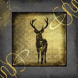 Black & Gold - Stag