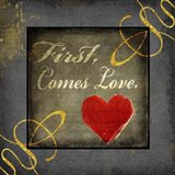 Gold First Comes Love 1