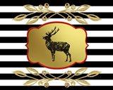 Gold Hello Beautiful Deer