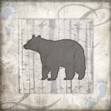 Decorative Lodge Bear 2B
