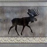 Moose Pattern Moose square