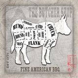American Butcher Shop Cow