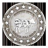 Good Ol' BBQ Square Cow