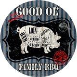 Good Ol' Family BBQ Round Pig