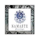 Chakras Yoga Framed Namaste V3
