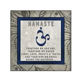 Chakras Yoga Tile Namaste V4