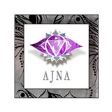 Chakras Yoga Framed AJNA V1