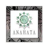 Chakras Yoga Framed Anahata V1