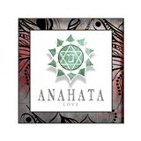 Chakras Yoga Framed Anahata V2