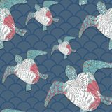 Sea Side BoHo Pattern - Turtles