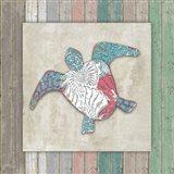 Sea Side BoHo Frame  - Turtle