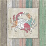 Sea Side BoHo Frame - Crab