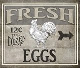 Vintage Farm Sign - Local Farmer - Fresh Eggs