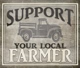 Vintage Farm Sign - Local Farmer
