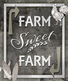 Farm Sign Farm Sweet Farm 1